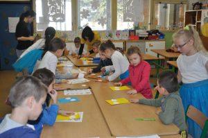 Predškoláci v škole